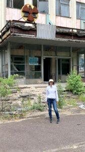 Leena logging miles from the Ukraine